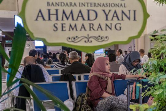 Bandara Terdampak Abu Vulkanis Gunung Merapi