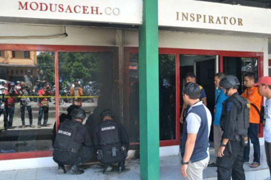 Bom Meledak Kantor Modus Aceh