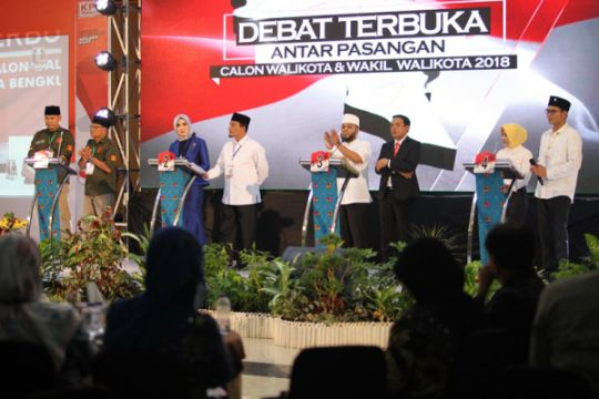 Debat Terbuka Terakhir Calwalkot Bengkulu
