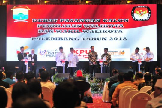 Debat Terbuka Pilkada Palembang