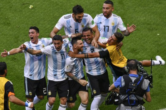 Argentina-Kolombia 0-0 di laga persahabatan