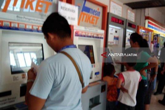 H-5 Lebaran penumpang KA di Daop 8 Surabaya mulai ramai