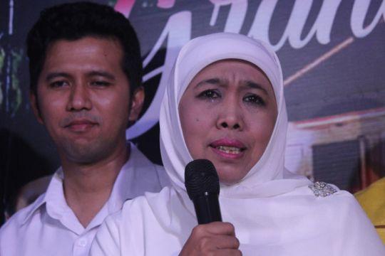 Soal dukungannya untuk Jokowi, Khofifah akan komunikasikan lagi