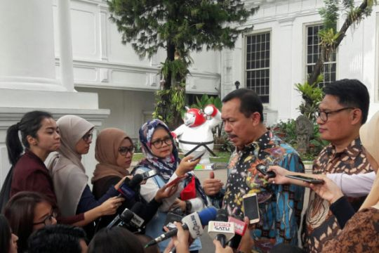 Komnas HAM temui Jokowi di Istana bahas pelanggaran HAM berat