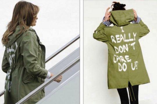 Menebak Melania Trump dari gaya berbusananya