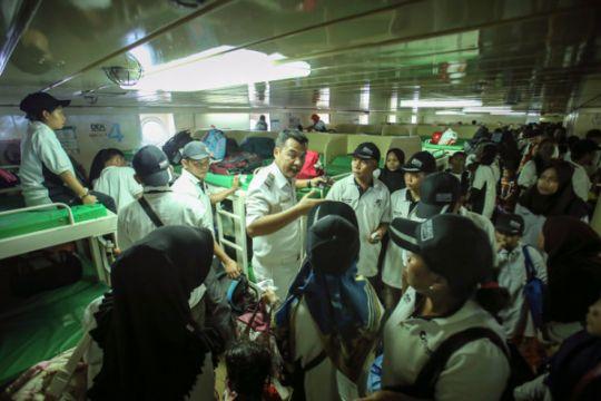 Pelni: Pelayaran arus mudik Batam-Belawan terpadat
