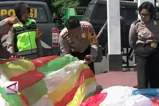 Polres Wonosobo kembali amankan 43 balon udara