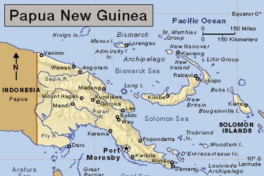 Gempa magnitudo 7,5 di pulau terpencil Papua Nugini berpotensi tsunami