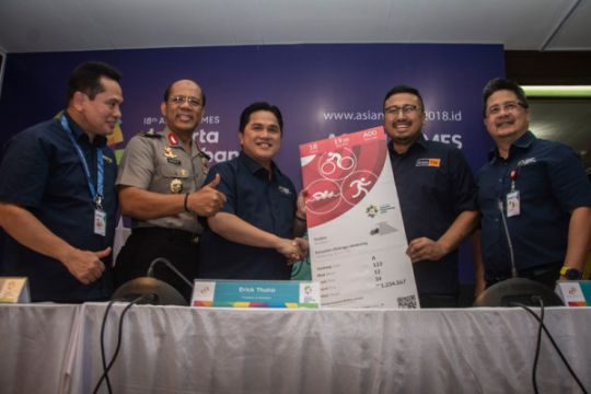 Penjualan Tiket Asian Games