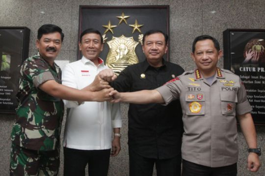 Kapolri: soliditas TNI-Polri cermin kekuatan NKRI