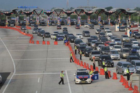LMS catat masih ada 46 persen kendaraan pemudik yang belum kembali
