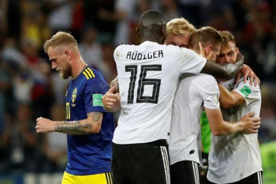 Jerman menang dramatis atas Swedia, berpeluang lolos ke 16 besar
