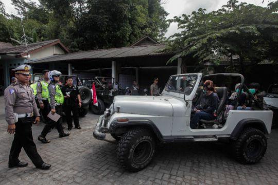 Razia Jeep Wisata Merapi