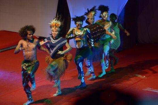 Seniman Papua Tampil di PKB