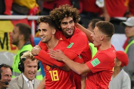 Belgia lawan Jepang, Inggris vs Kolombia di 16 besar