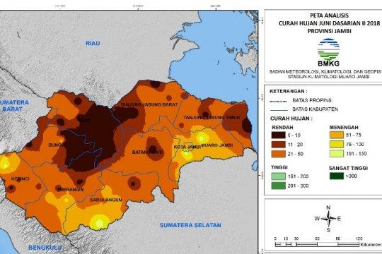 3 provinsi diperkirakan mengalami hari tanpa hujan ekstrem