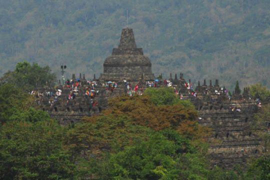 Candi Borobudur mini tujuan wisata baru Cianjur