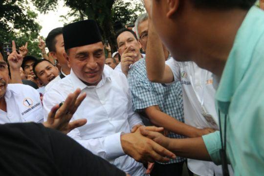 KPU tetapkan gubernur-wagub Sumut terpilih