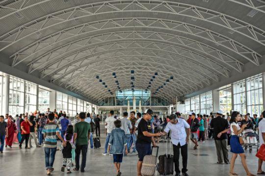 Penumpang arus mudik di Bandara Lombok naik 9 persen