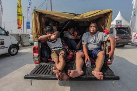 Polres Bogor imbau pengemudi truk tidak muat penumpang