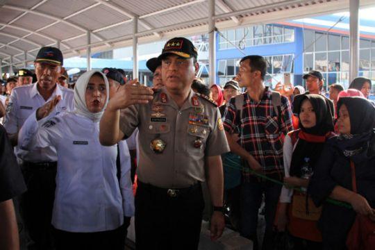 Wakapolri tinjau Pelabuhan Bakauheni Lampung