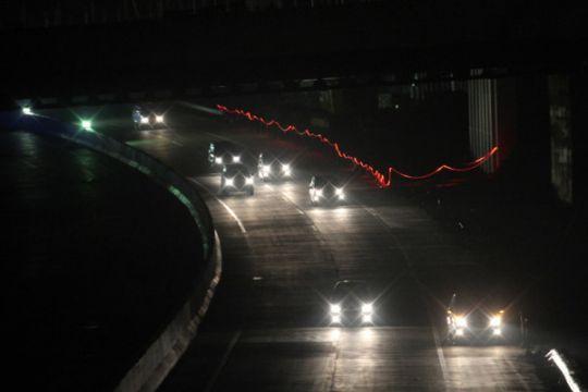 Jalur alternatif mudik Sukabumi macet total