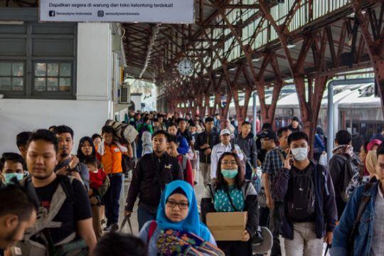 KAI Daop 1 angkut 1,2 juta penumpang selama Natal-Tahun Baru