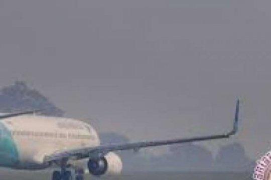 Asap karhutla berkurang, penerbangan Bandara Pekanbaru kembali normal