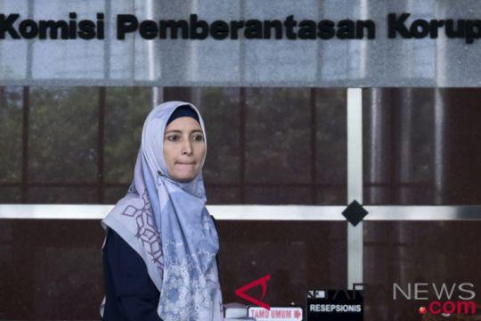 KPK geledah rumah kontrakan Inneke Koesherawati