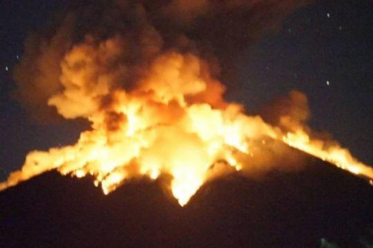 Erupsi gunung Agung, relawan ACT siaga di Karangasem