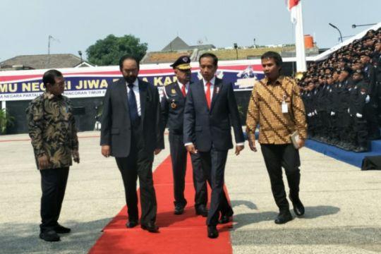 Mahfud dan TGB hadiri kuliah umum Jokowi