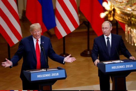 Setelah bertemu Putin, Trump yakin Rusia tak intervensi Pemilu AS