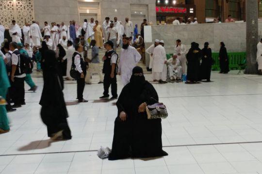 Laporan dari Mekkah - Kuota haji tak terpakai berkurang dibanding 2017