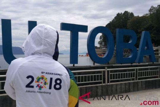 Danau Toba berharap berkah kirab obor Asian Games