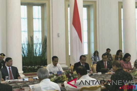 Presiden buka Sidang Kabinet Paripurna bahas RAPBN 2019