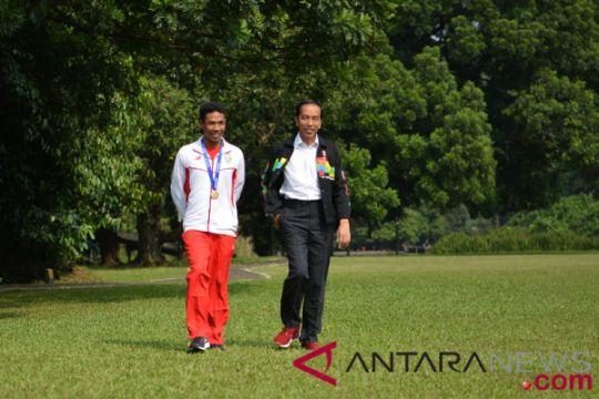 Kemarin, Presiden Jokowi bertemu Zohri hingga estafet api obor Asian Games dimulai