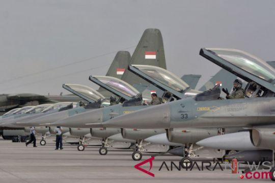 Latihan tempur TNI AU-AU Singapura berakhir