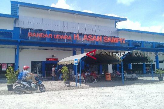Bandara dan pelabuhan di Sampit juga ditutup sementara untuk penumpang