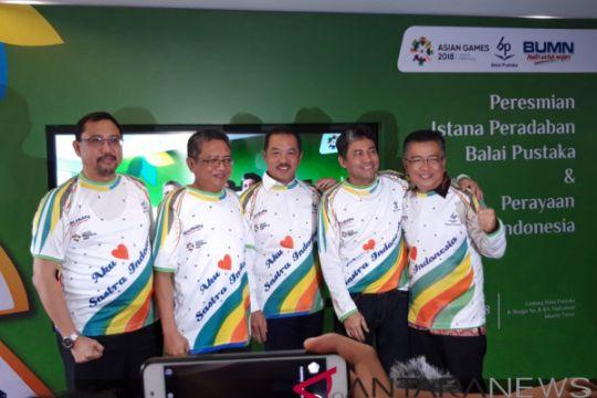 Sambut Hari Sastra Indonesia, Balai Pustaka resmikan Istana Peradaban Balai Pustaka