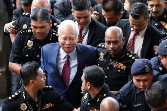 Najib Razak disidang di Mahkamah Kuala Lumpur