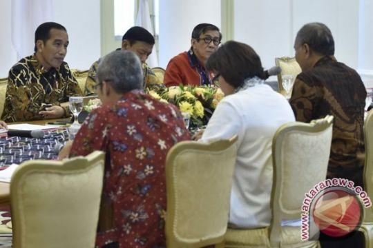 Presiden Jokowi bahas Rancangan KUHP dengan pimpinan KPK