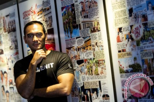 Ario Bayu soal peran sebagai polisi di film 22 Menit