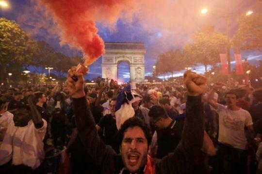 Paris ubah nama enam stasiun metro, hormati bintang Piala Dunia