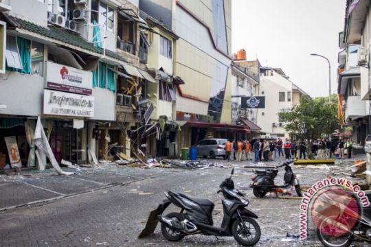Pegawai diizinkan masuki ruko di sekitar lokasi ledakan Kebayoran