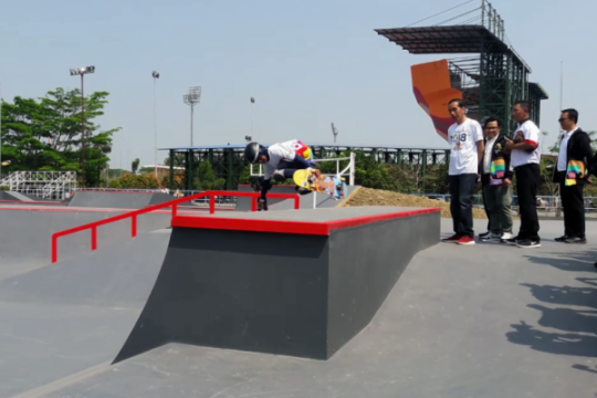 Singapura dan India batal kirim atlet skateboard
