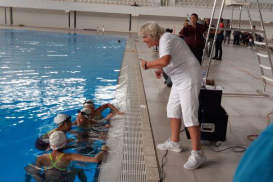 Pelatih kaliber dunia berbagi ilmu di kolam GBK