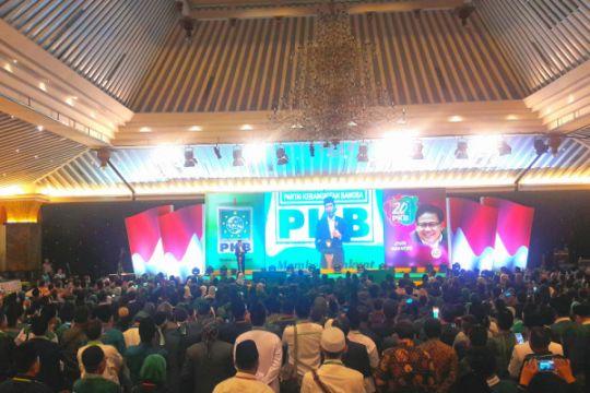 Presiden Jokowi hadiri peringatan Harlah Ke-20 PKB