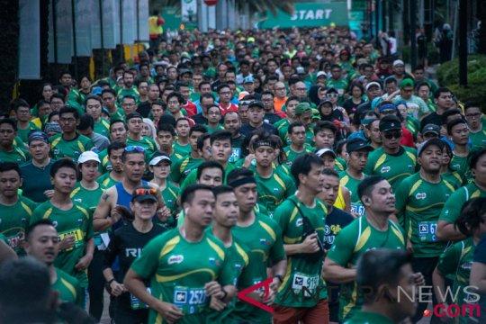 Ini dia rekayasa lalu lintas saat Jakarta International Milo Run
