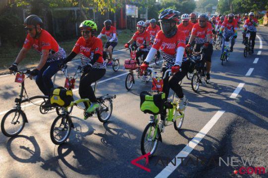 Palembang tuan rumah jambore sepeda lipat nasional