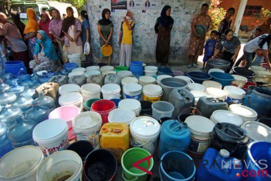 1.100 KK di Lebak kesulitan air bersih